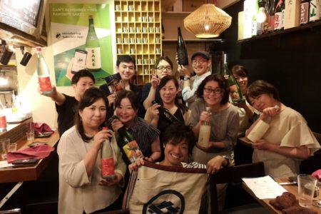 なかなか予約がとれない大好評の日本酒イベント!!
